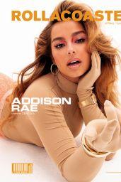 Addison Rae - Photoshoot for Rollacoaster Magazine Spring/Summer 2021