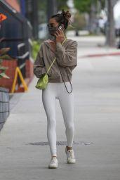 Alessandra Ambrosio - Going to a Pilates Class in Santa Monica 05/10/2021