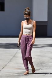 Alessandra Ambrosio in Street Outfit - Beverly Hills 05/26/2021