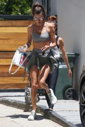 Alessandra Ambrosio - Leaves Her Pilates Class in West Hollywood 05/25/2021