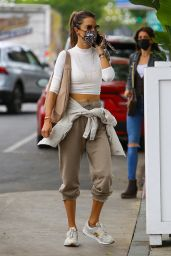 Alessandra Ambrosio - Out For Lunch at Bottega Louie in West Hollywood 05/15/2021