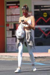 Alessandra Ambrosio - Out in LA 05/11/2021