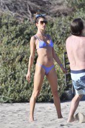 Alessandra Ambrosio - Playing Volleyball in Malibu 05/05/2021