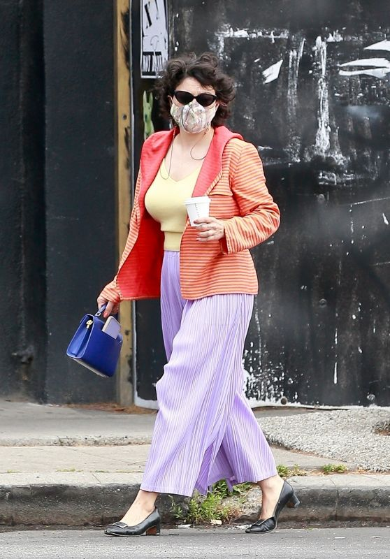 Alia Shawkat in a Colorful Outfit - Los Feliz 05/13/2021