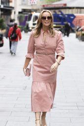 Amanda Holden at Global Radio in London 05/11/2021