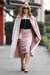 Amanda Holden - Leaving Global Studio in London 05/05/2021