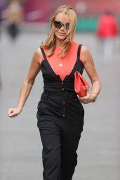Amanda Holden - Leaving the Global Studios in London 05/10/2021