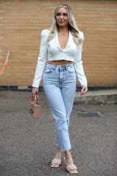 """Amber Turner – """"The Only Way is Essex"""" TV Show Filming 05/15/2021"""