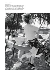 Amber Valletta, Shalom Harlow and Carolyn Murphy - WSJ. Magazine May 2021