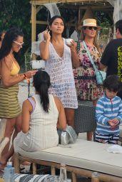 Ambra Gutierrez at Joia Beach in Miami 05/16/2021