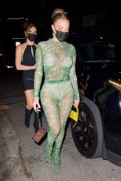 Anastasia Karanikolaou Night Out Style - Los Angeles 05/01/2021