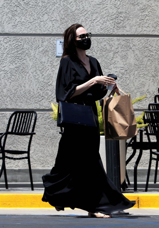 Angelina Jolie - Shopping in Los Angeles 05/23/2021