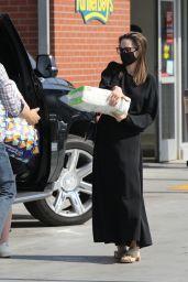 Angelina Jolie - Shopping in Los Feliz 05/07/2021