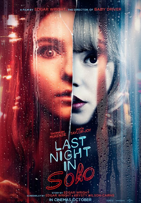 "Anya Taylor-Joy and Thomasin McKenzie - ""Last Night in Soho"" Poster"