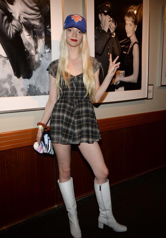 Anya Taylor-Joy - Madison Square Garden in NY 05/23/2021