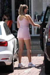 April Love Geary in Pink Workout Skirt - Malibu 05/04/2021