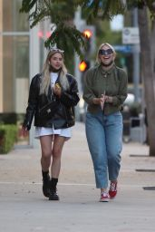 Ashley Benson at Zinque Restaurant in West Hollywood 05/19/2021