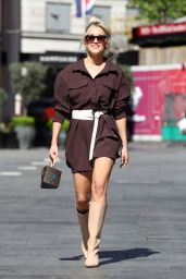 Ashley Roberts at Heart Radio in London 05/27/2021
