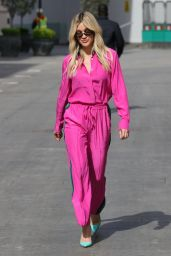 Ashley Roberts in a Pink Shell Suit 05/06/2021