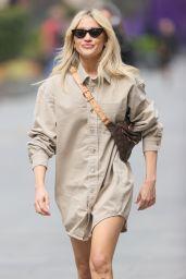 Ashley Roberts in Short Shirt Dress 05/18/2021