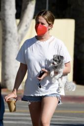 Ashley Tisdale - Out in Los Angeles 05/15/2021