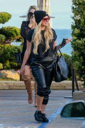 Avril Lavigne at Nobu in Malibu 05/22/2021