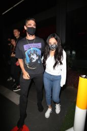 Becky G at BOA Steakhouse in West Hollywood 05/10/2021