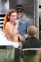 Bella Thorne - Onboard a Yacht in Miami 05/09/2021