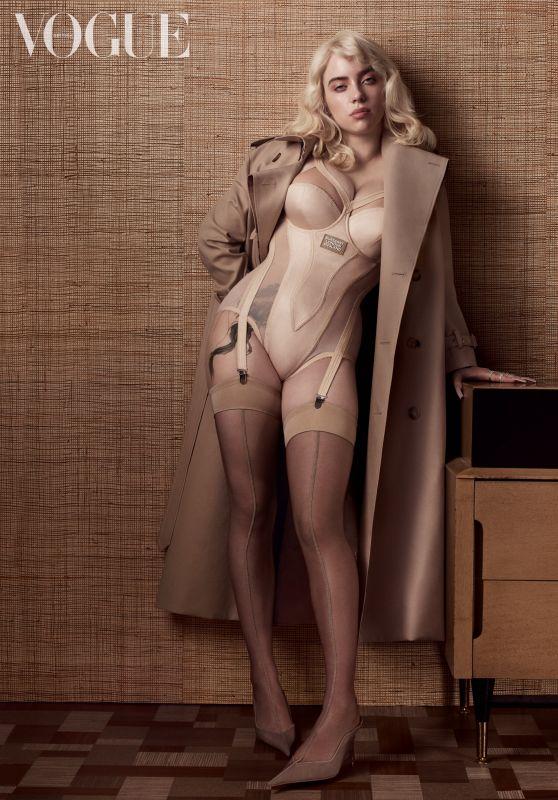 Billie Eilish - Vogue UK June 2021