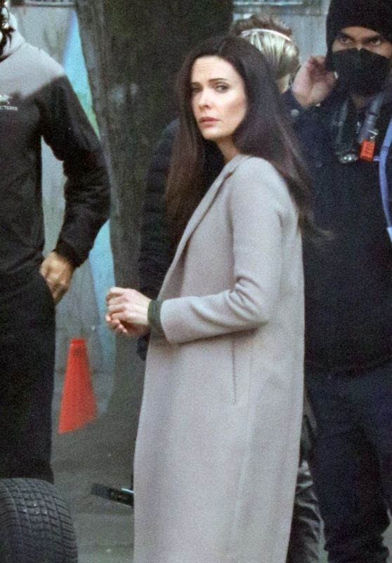 "Bitsie Tulloch - Filming ""Superman"" in Vancouver 05/04/2021"