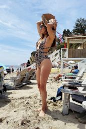Blanca Blanco at Paradise Cove in Malibu 05/02/2021