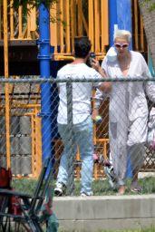 Brigitte Nielsen at the Park in LA 05/09/2021