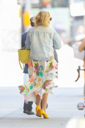 Busy Philipps - Leaving The Drew Barrymore Show in New York 05/11/2021
