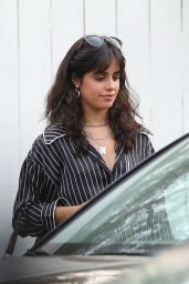 Camila Cabello at the San Vicente Bungalows in West Hollywood 05/25/2021