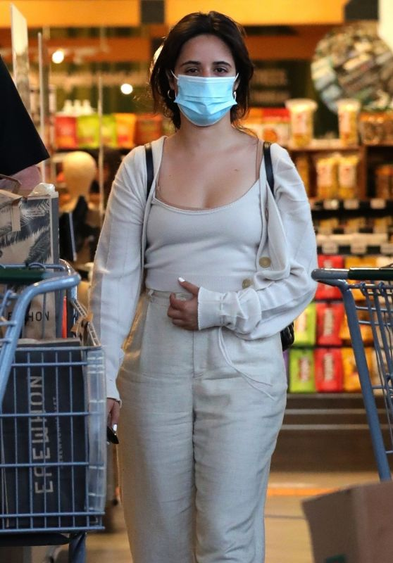 Camila Cabello - Grocery Shopping at Erewhon Market in West Hollywood 05/10/2021