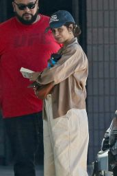 Camila Cabello in Oversized Baggy Pants and a Crop Top - West Hollywood 05/24/2021