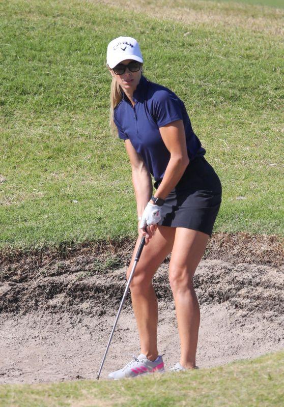 Candice Warner - Shows Off Her Golf's Skills in Sydney 05/03/2021