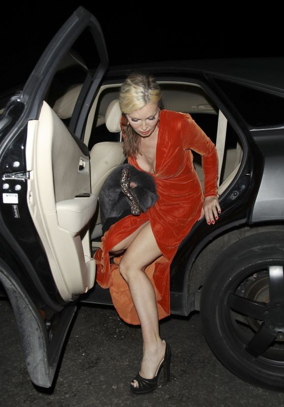 Caprice Bourret Night Out at the Posh Arts Club in London 05/28/2021