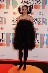 Celeste – BRIT Awards 2021 Red Carpet