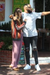 Chantel Jeffries at Fred Segal in West Hollywood 05/05/2021