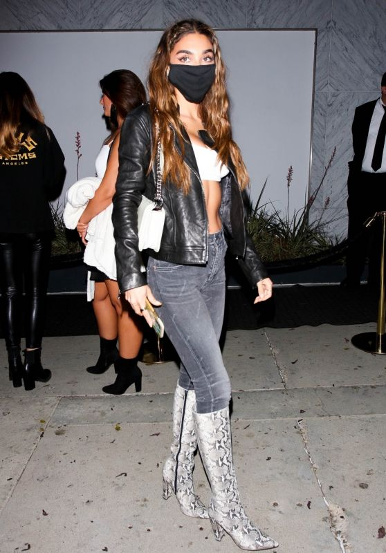 Chantel Jeffries at the Bootsy Bellows Grand Opening in West Hollywood 05/07/2021