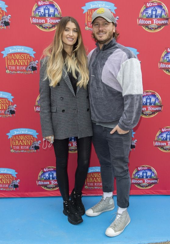 Charley Webb – Alton Towers Launch Event of Gangsta Granny: The Ride 05/22/2021