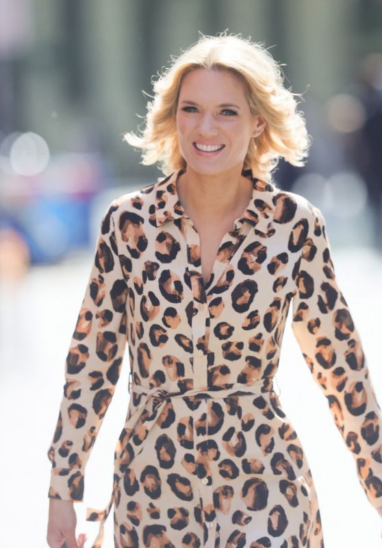 Charlotte Hawkins - Out in London 05/19/2021