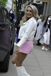 Chloe Crowhurst at Boujee Bar in Manchester City Centre 05/14/2021