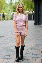 """Chloe Meadows – """"The Only Way is Essex"""" TV Show Filming in Essex 03/20/2021"""