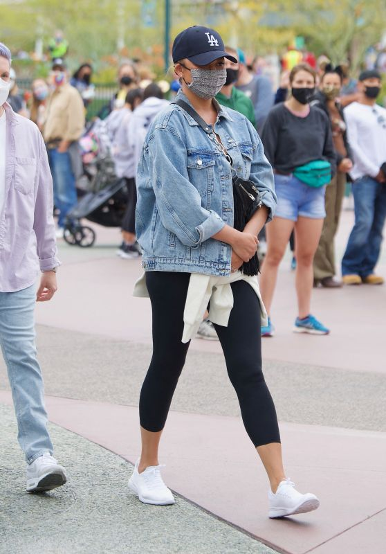 Chrissy Teigen at Disneyland in Los Angeles 05/15/2021