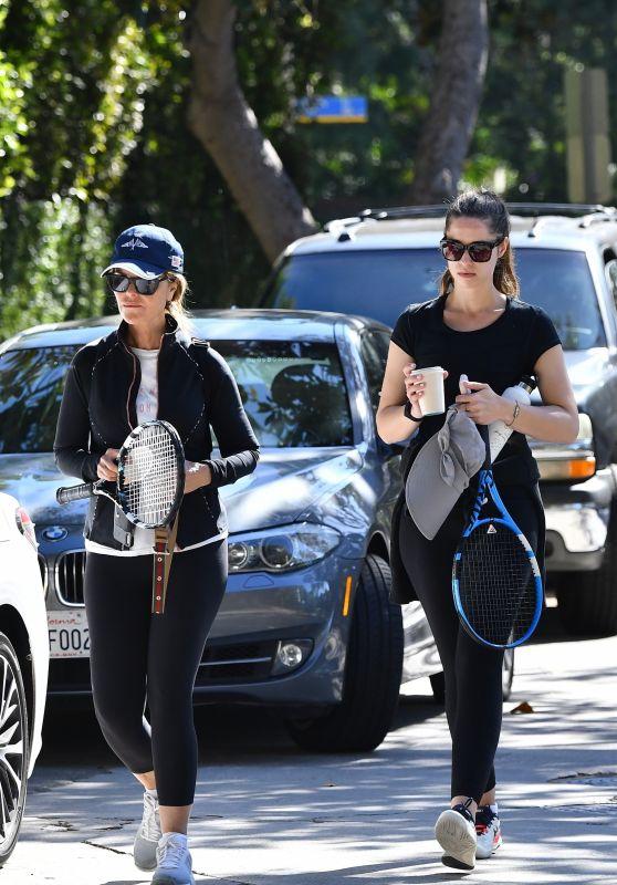 Christina Schwarzenegger With Mom Maria Shriver 05/24/2021