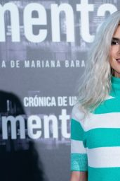 """Clara Lago - """"Cronica De Una Tormenta"""" Photocall in Madrid"""