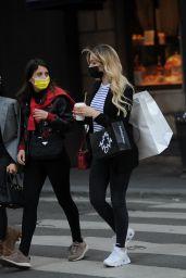 Costanza Caracciolo - Shopping in Milan 05/05/2021