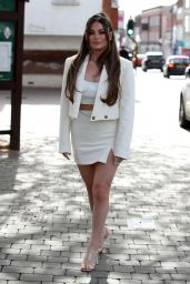 """Courtney Green – """"The Only Way is Essex"""" TV Show Filming 05/15/2021"""